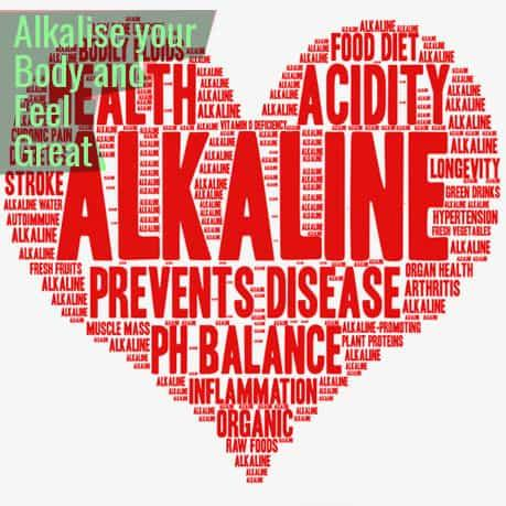 Alkalise your body and feel Great